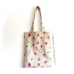 Sac Tote-Bag « Collection CUPCAKES »